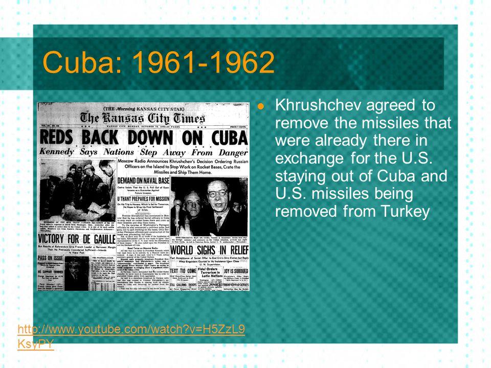 Cuba: 1961-1962
