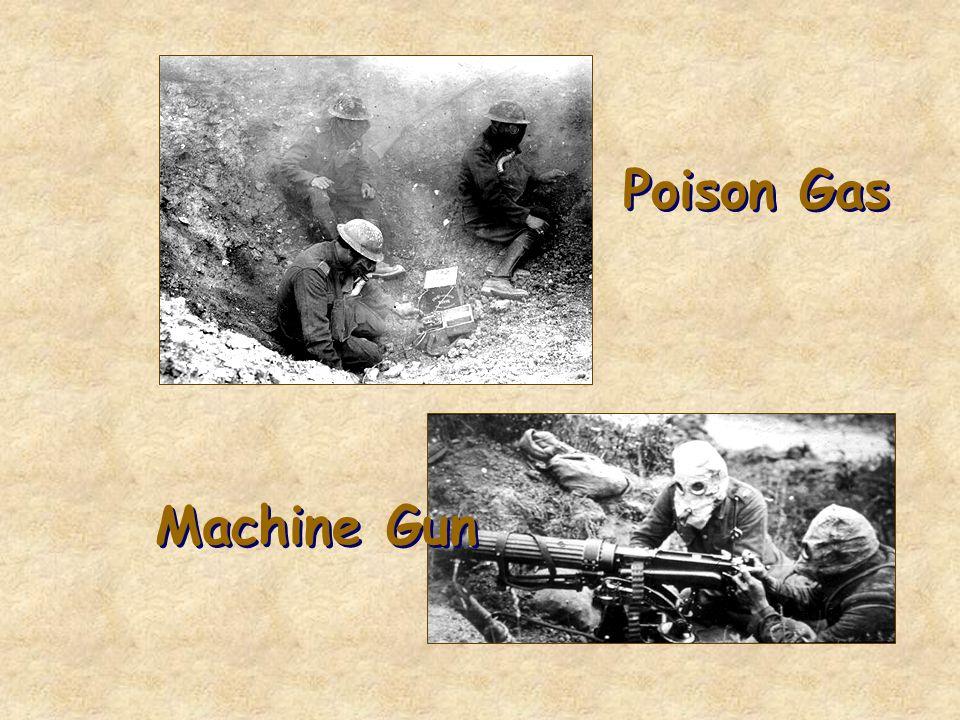Poison Gas Machine Gun