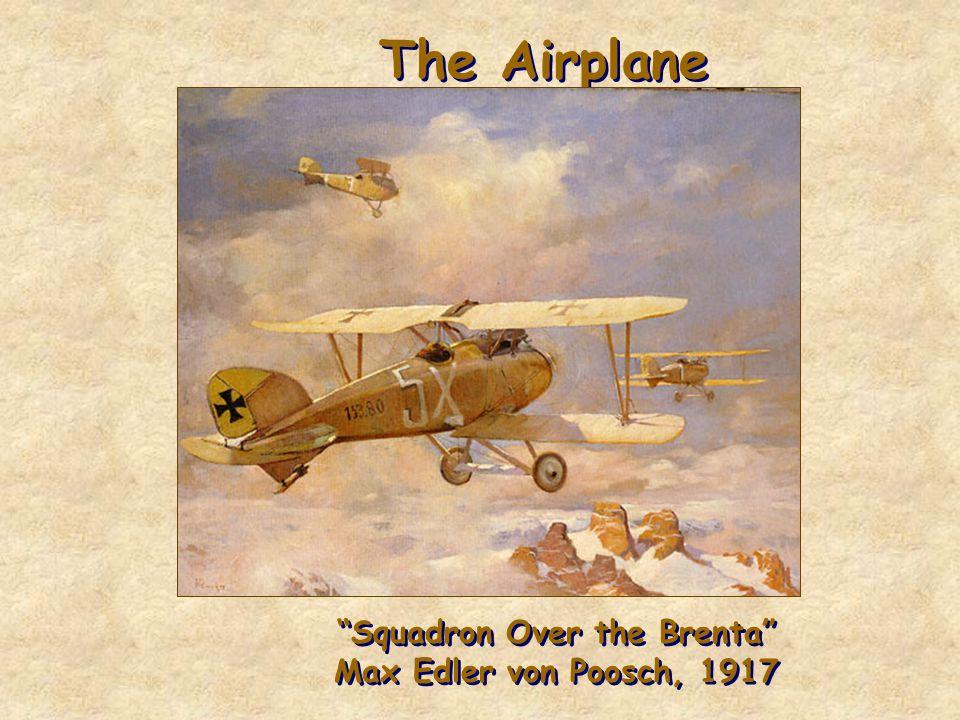 Squadron Over the Brenta Max Edler von Poosch, 1917
