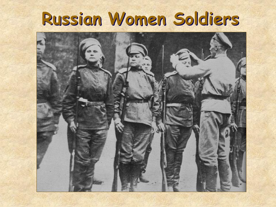 Russian Women Soldiers