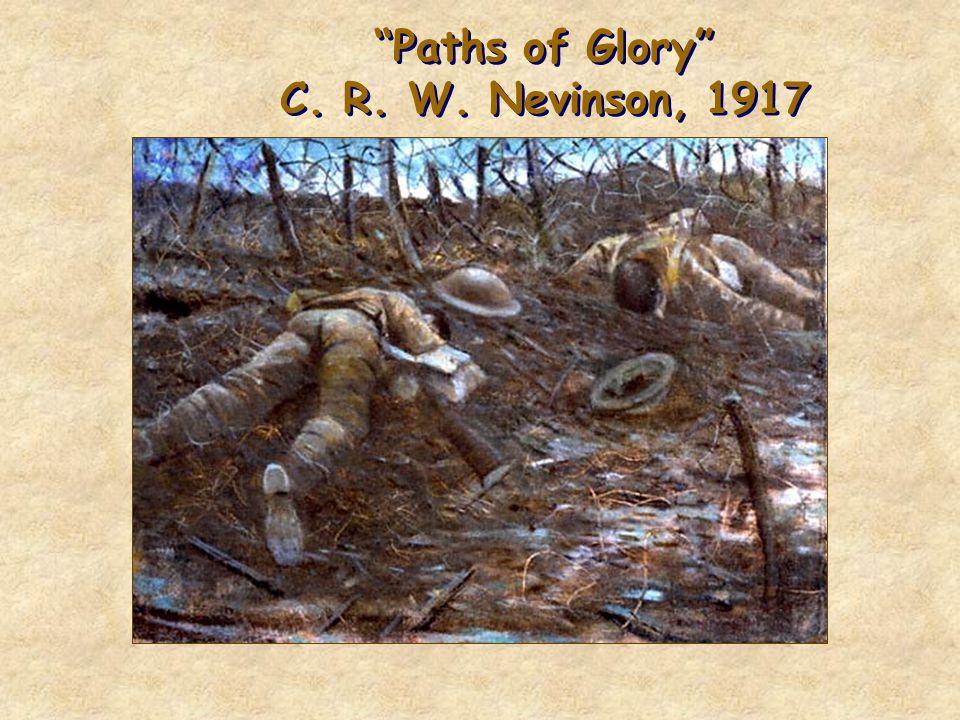 Paths of Glory C. R. W. Nevinson, 1917