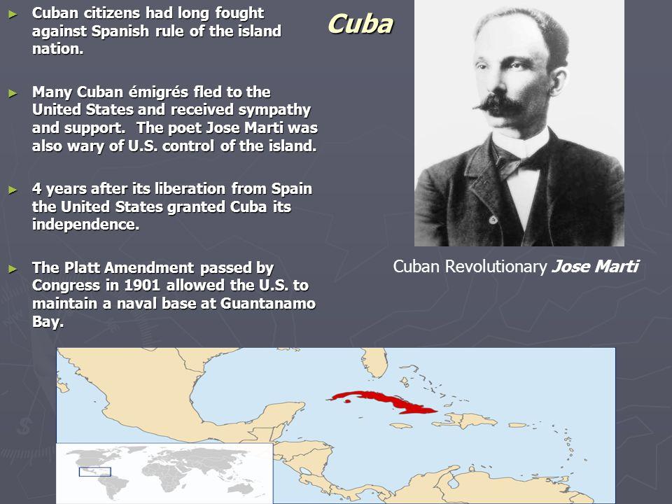 Cuba Cuban Revolutionary Jose Marti