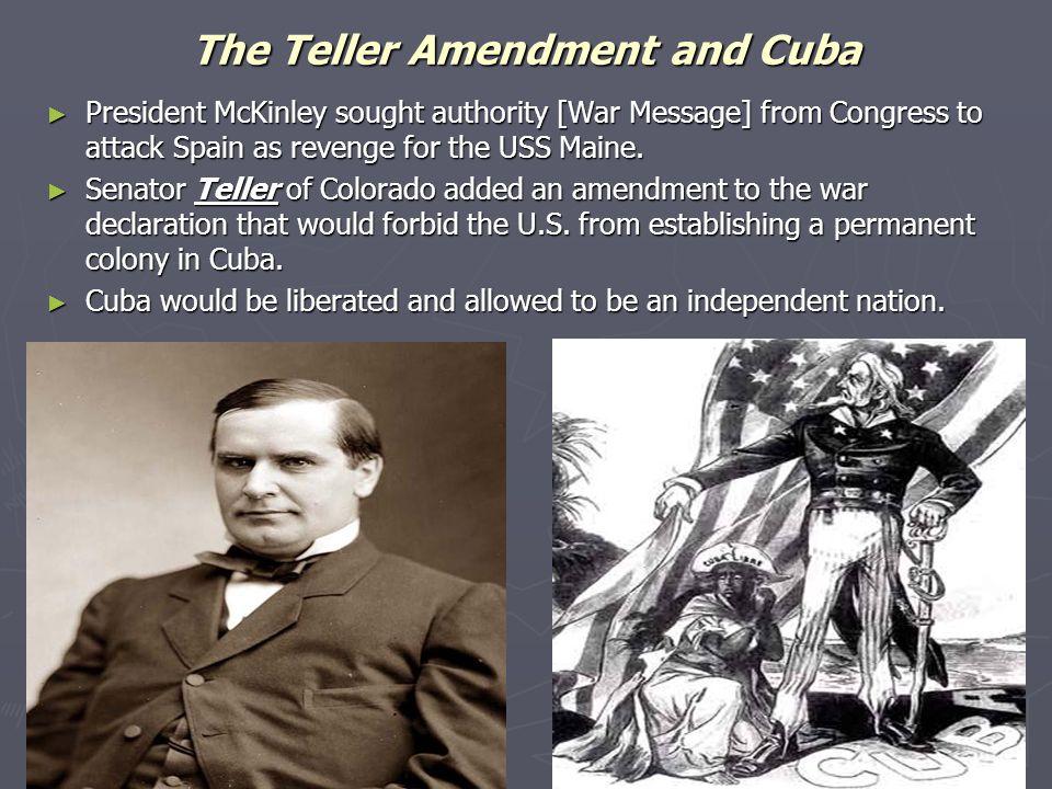 The Teller Amendment and Cuba