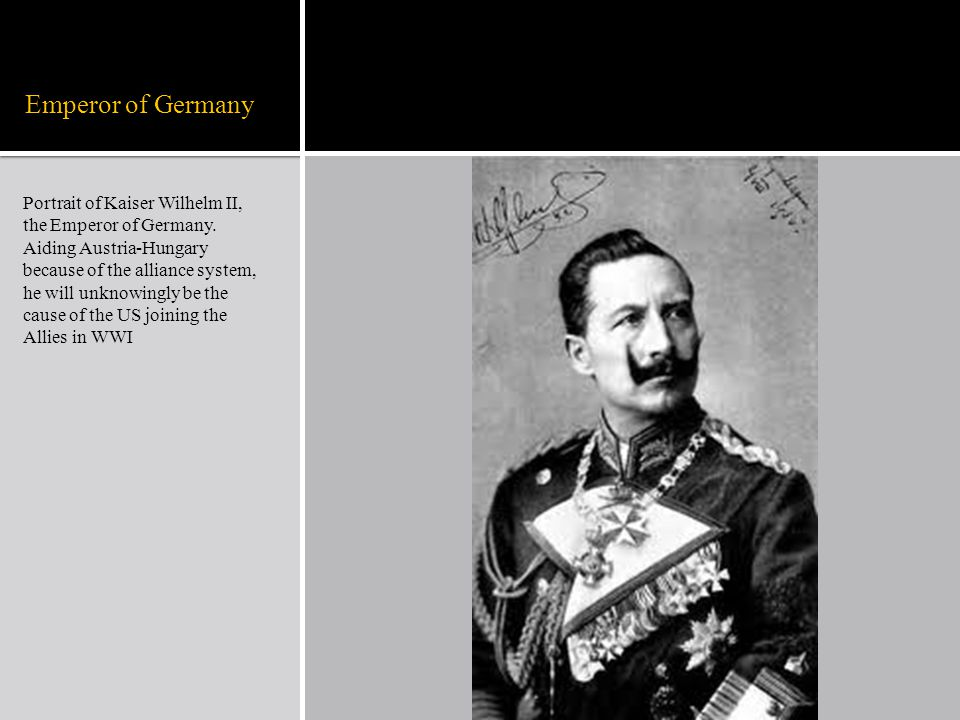 Emperor of Germany