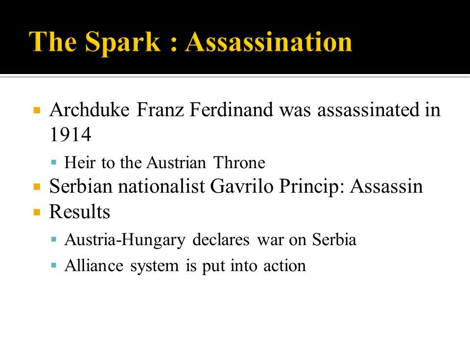 The Spark : Assassination