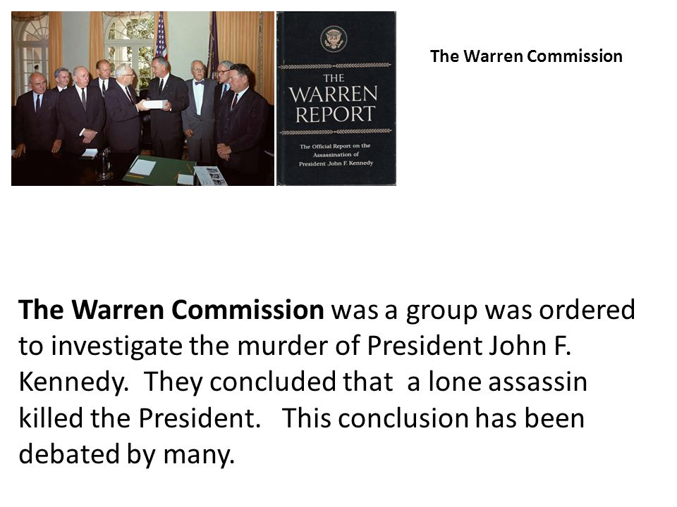 The Warren Commission