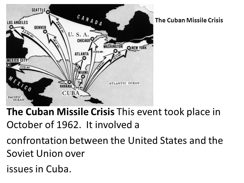 An analysis of the cuban missile crisis in united states
