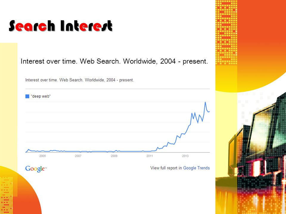Search Interest Interest over time. Web Search. Worldwide, 2004 - present.