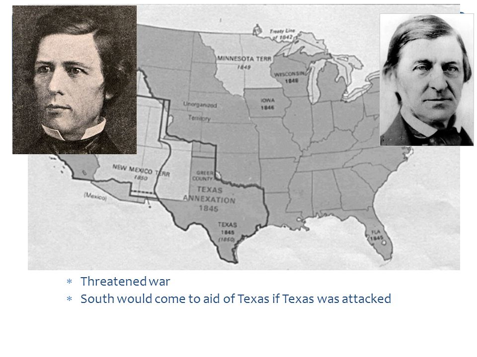 Background Info Mexican-American War (1846 – 1848): Wilmot Proviso:
