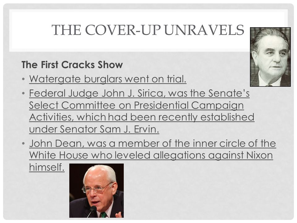 The Cover-Up Unravels The First Cracks Show