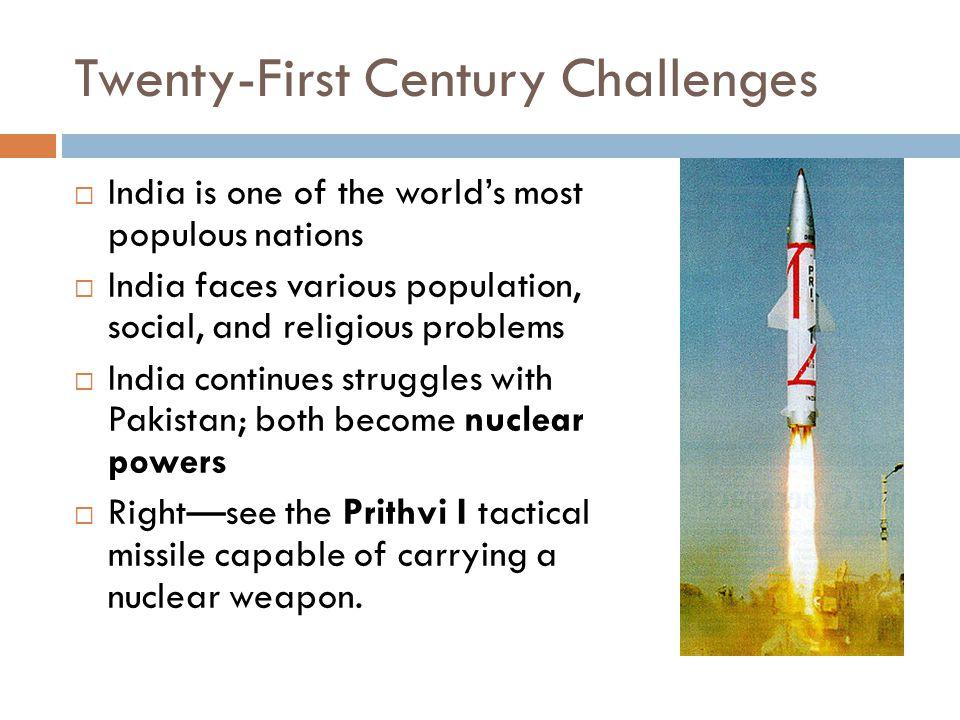 Twenty-First Century Challenges
