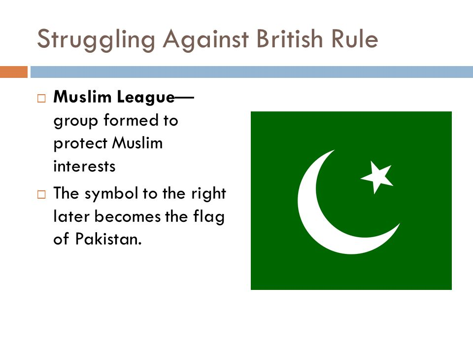 Struggling Against British Rule