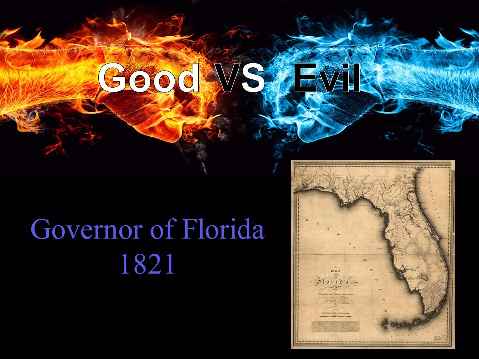 Governor of Florida 1821