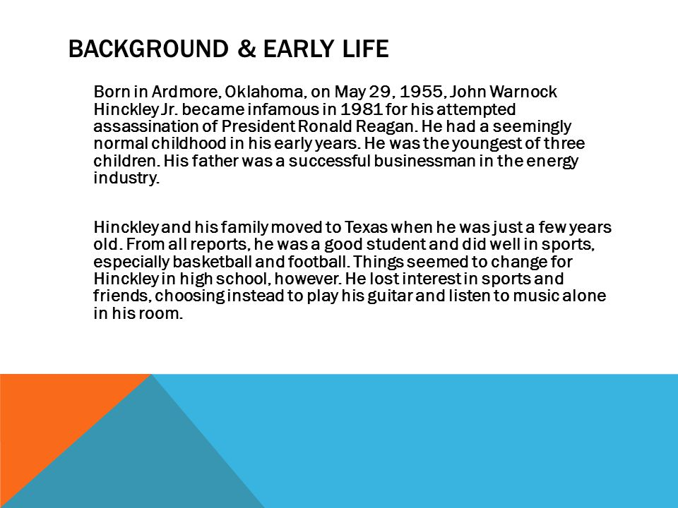 Background & Early Life