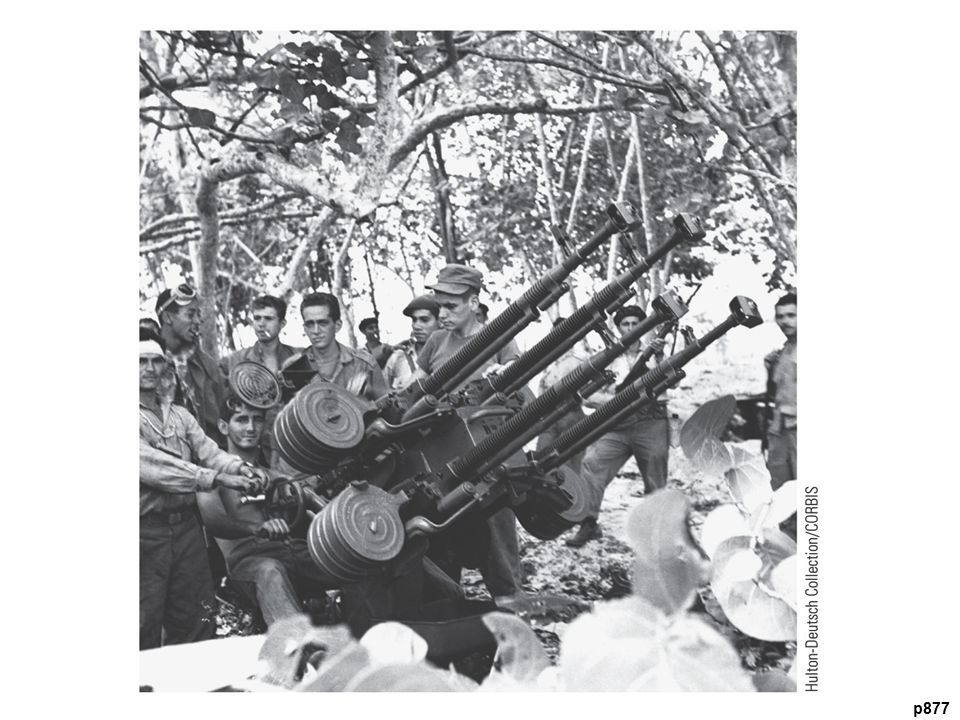 Failed B ay of Pigs Invasion, 1961 Cuban soldiers