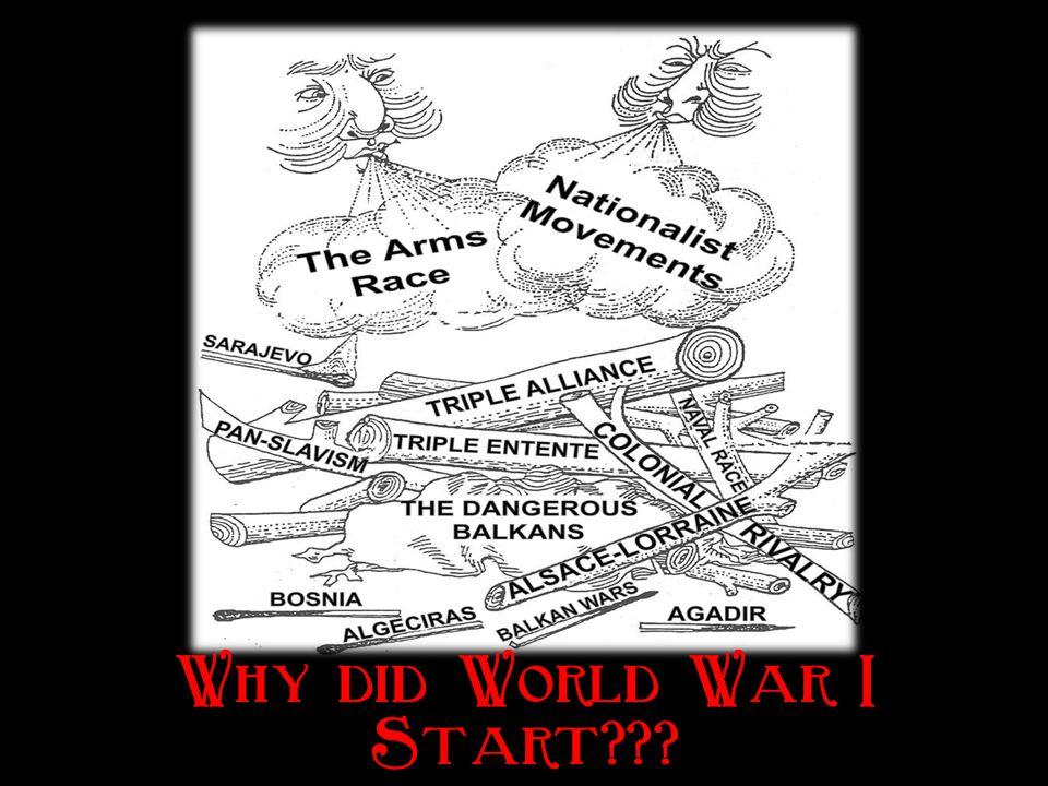 Why did World War I Start