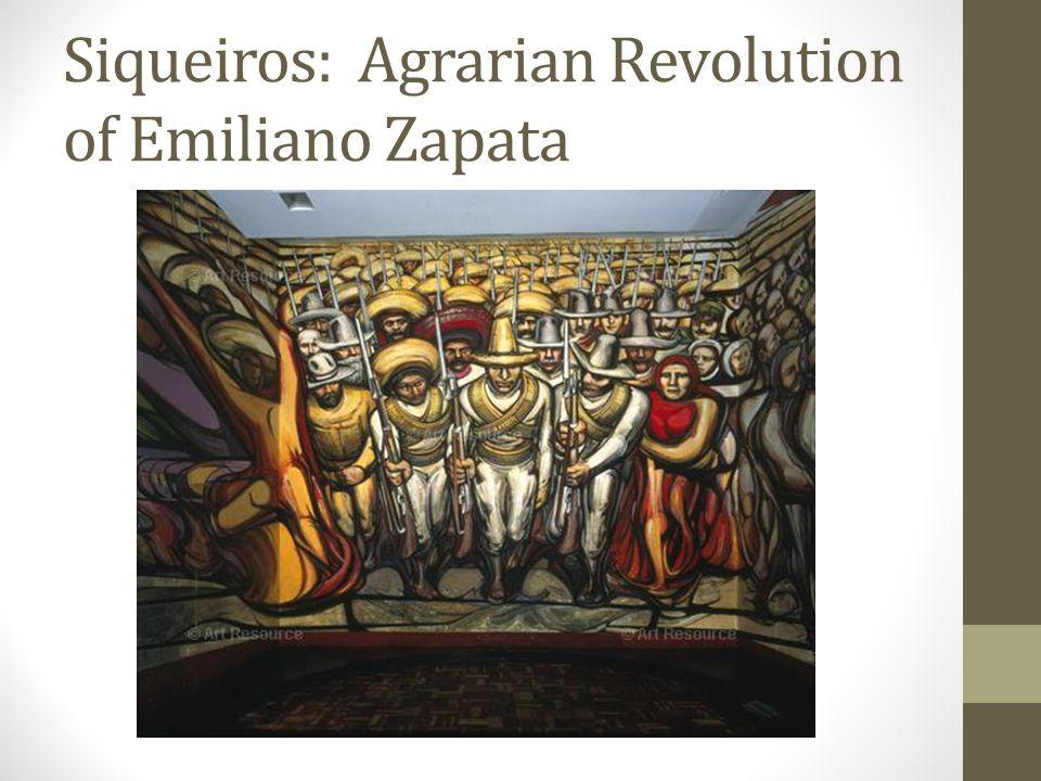 Siqueiros: Agrarian Revolution of Emiliano Zapata