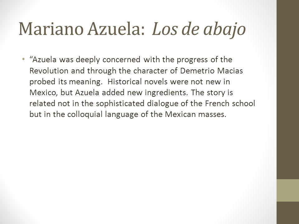 Mariano Azuela: Los de abajo