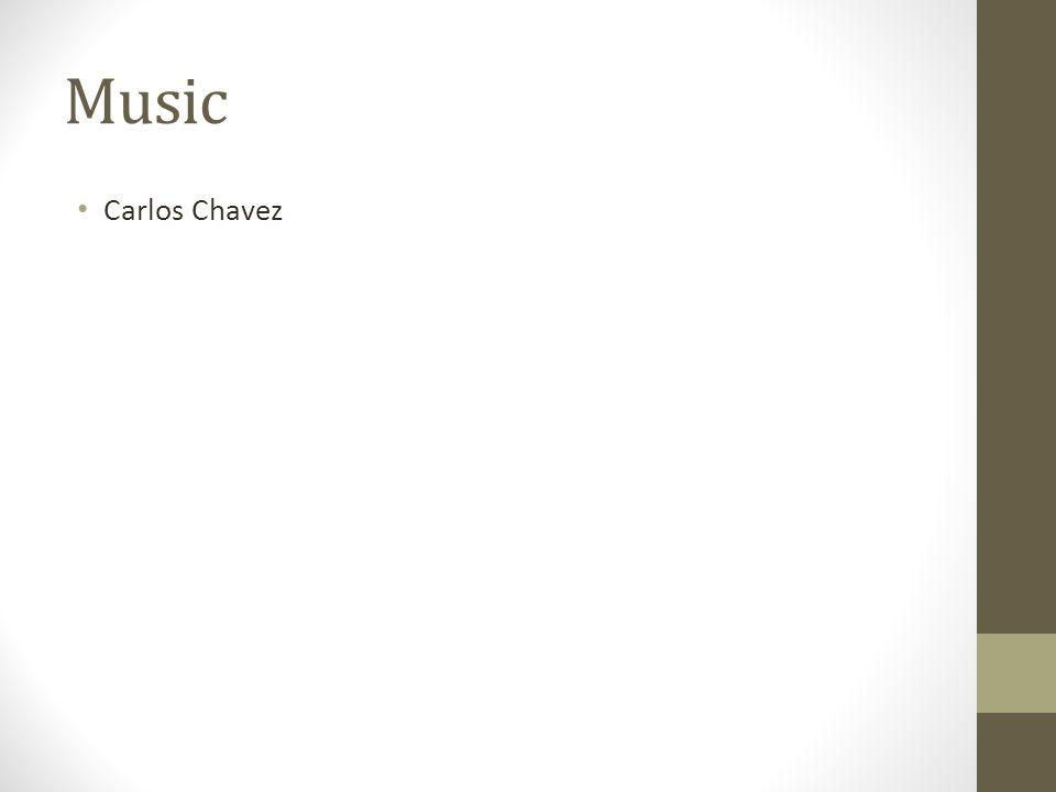 Music Carlos Chavez