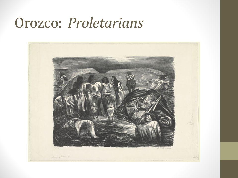 Orozco: Proletarians