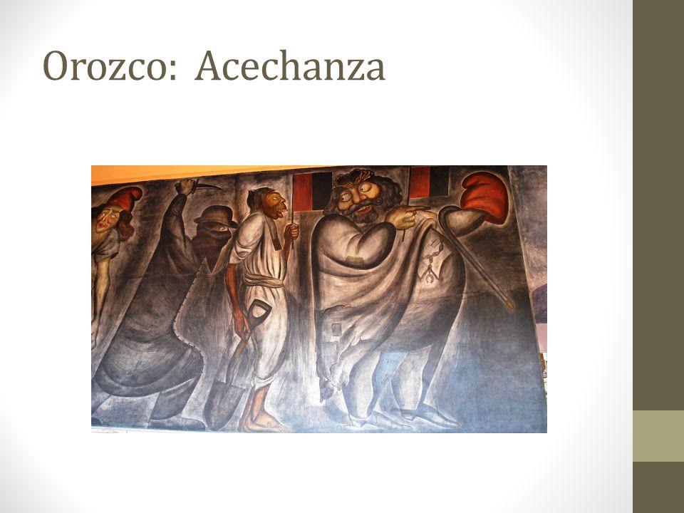 Orozco: Acechanza