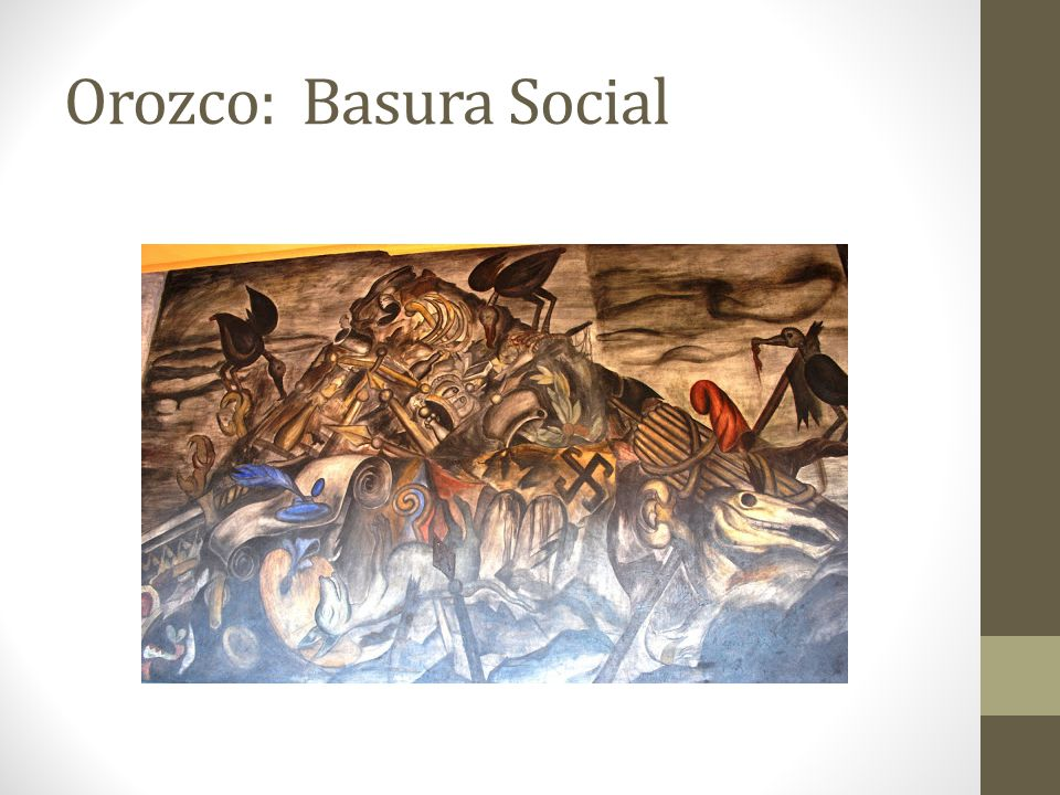 Orozco: Basura Social