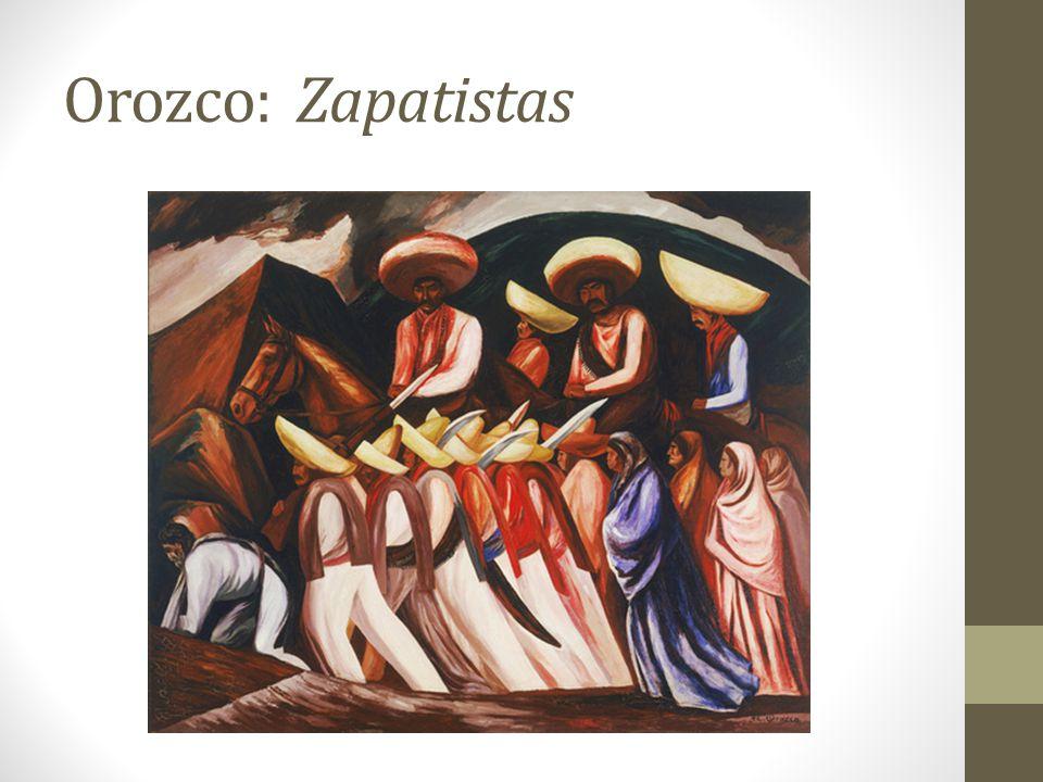 Orozco: Zapatistas