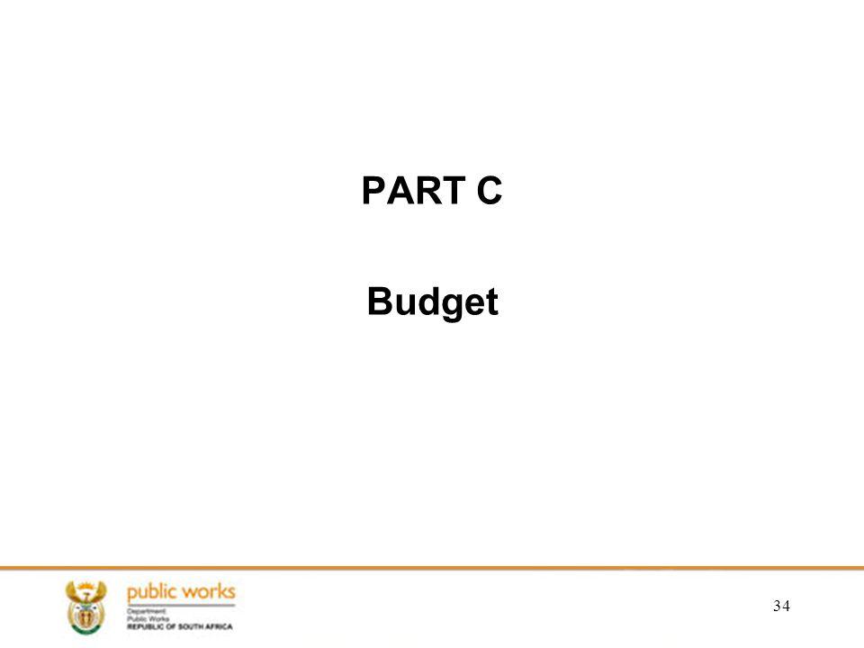 PART C Budget