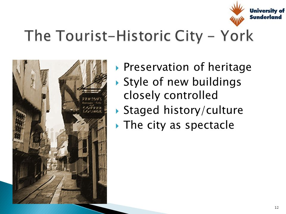 The Tourist-Historic City - York