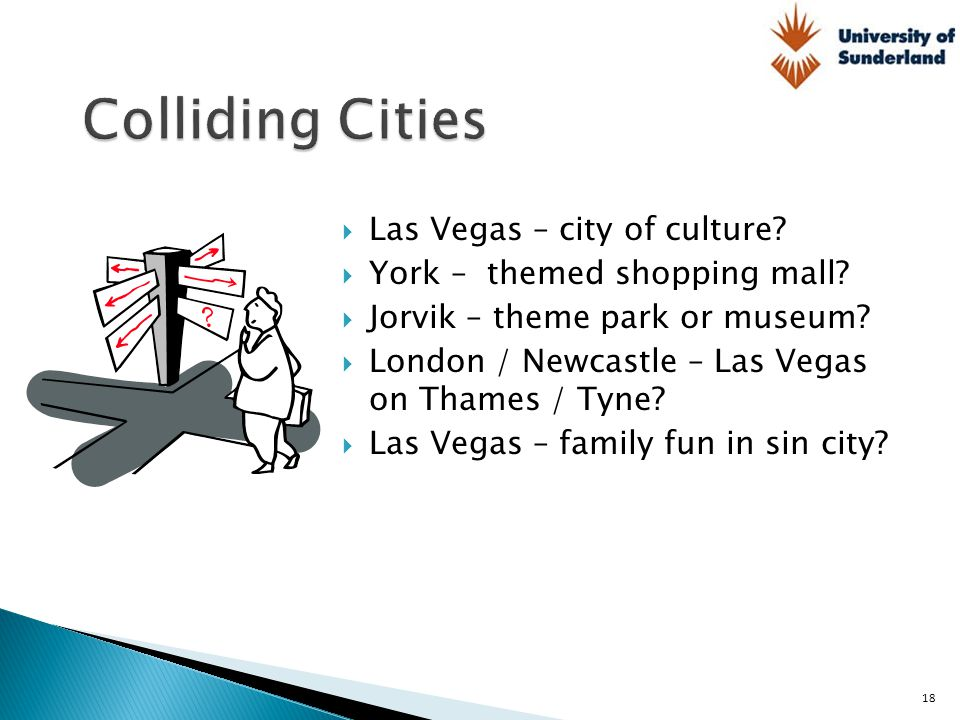 Colliding Cities Las Vegas – city of culture