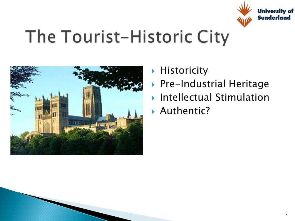 The Tourist-Historic City
