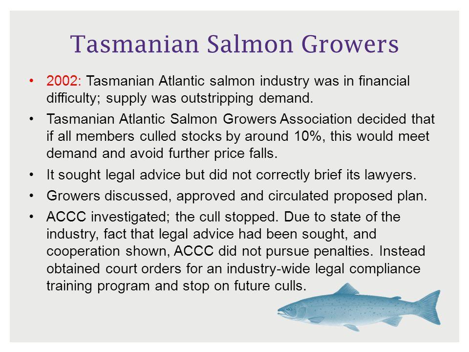 Tasmanian Salmon Growers