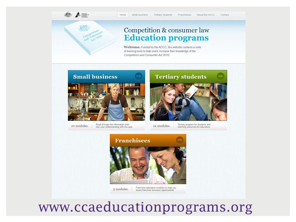 www.ccaeducationprograms.org