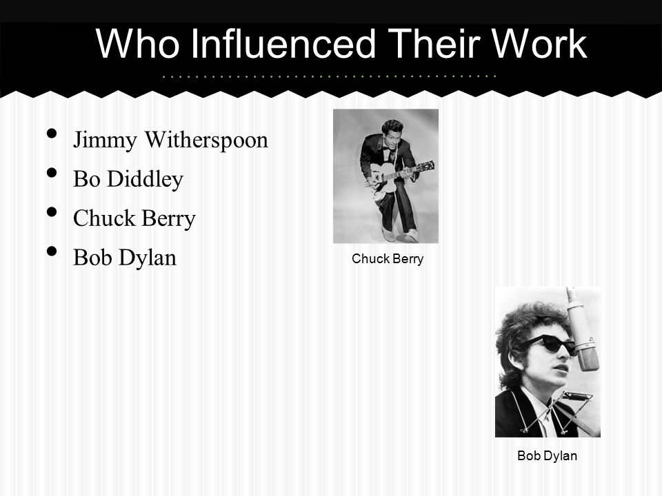 Who Influenced Their Work