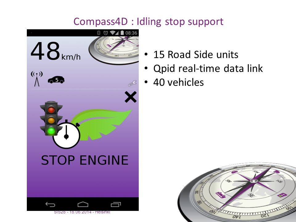 Compass4D : Idling stop support