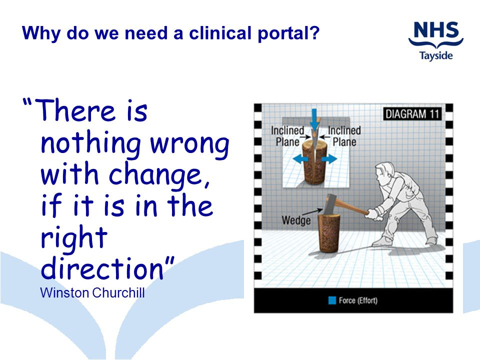 Why do we need a clinical portal