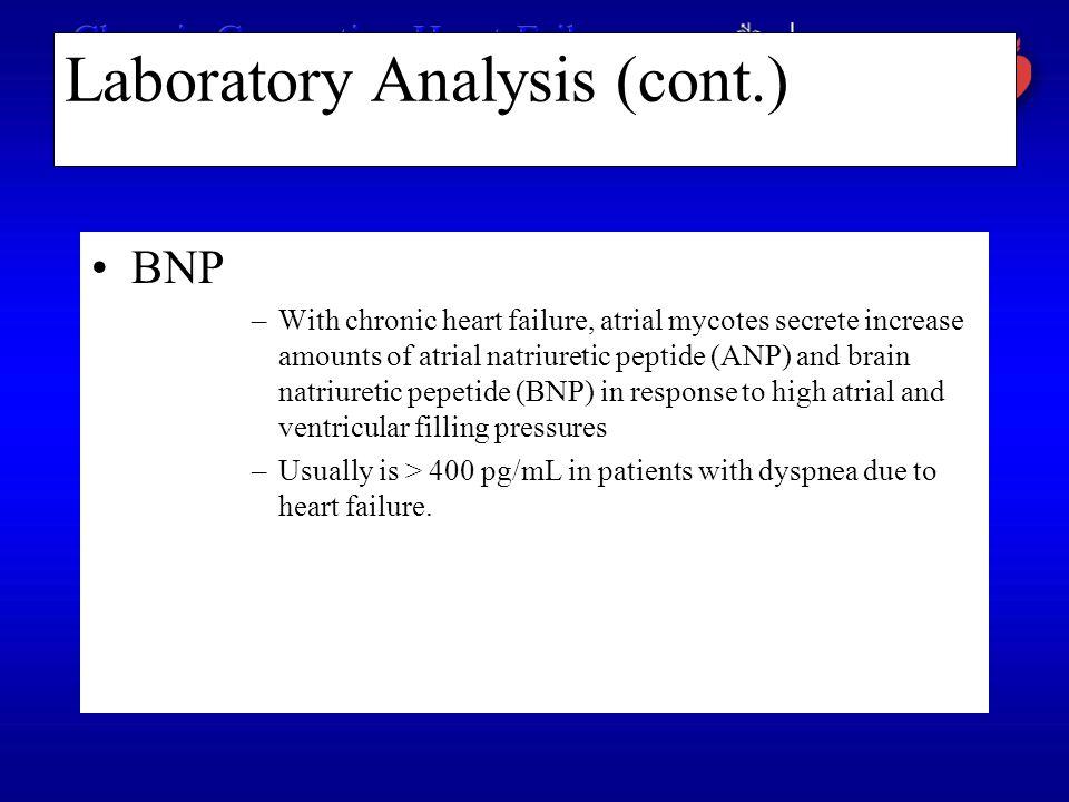 Laboratory Analysis (cont.)