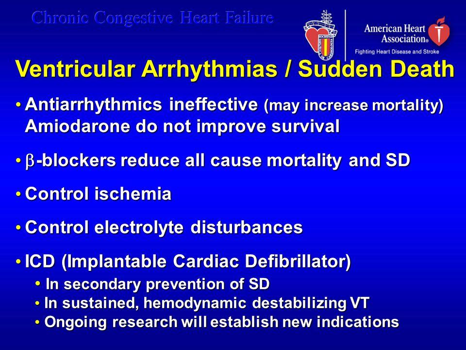 Ventricular Arrhythmias / Sudden Death