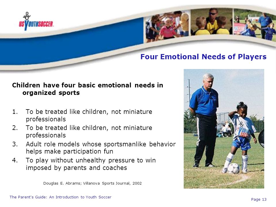 Four Emotional Needs of Players