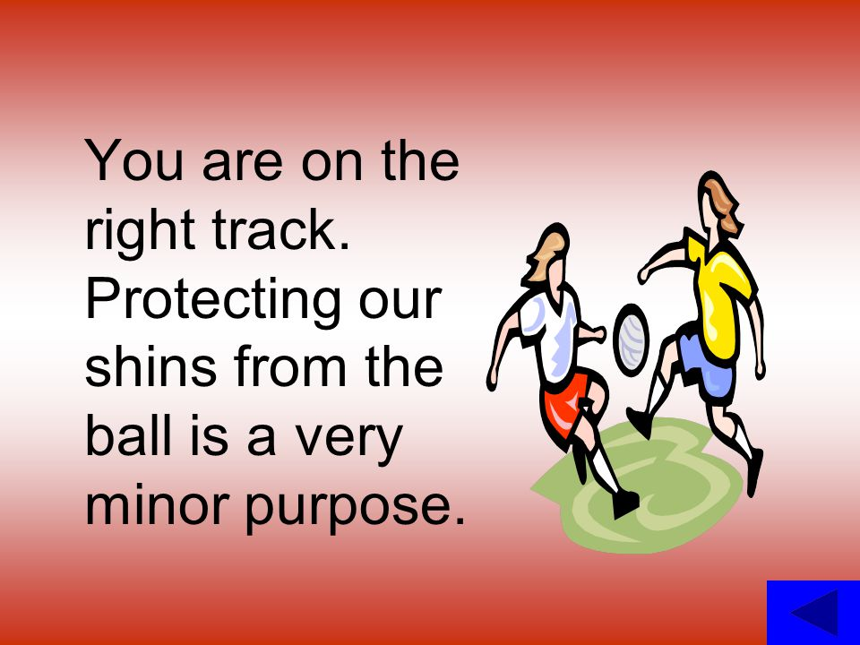 You are on the right track