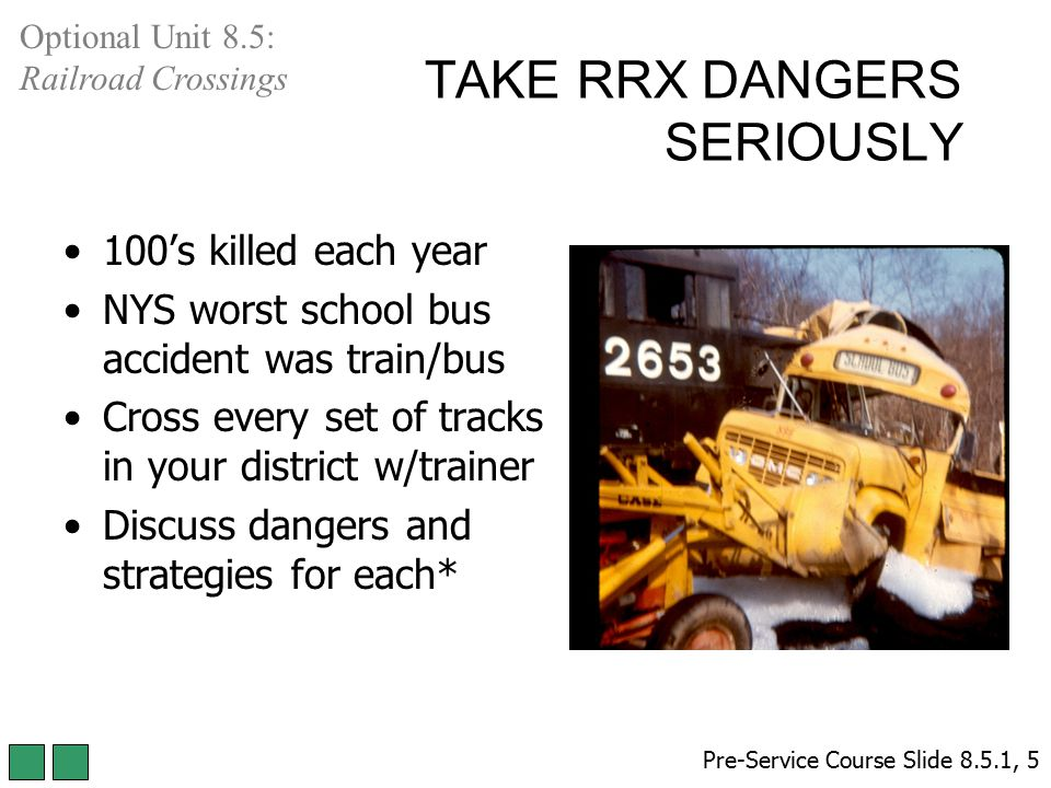 TAKE RRX DANGERS SERIOUSLY