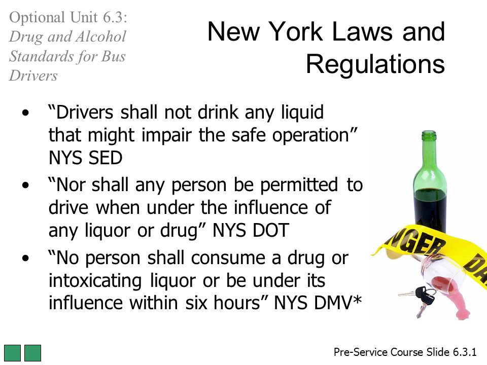 New York Laws and Regulations