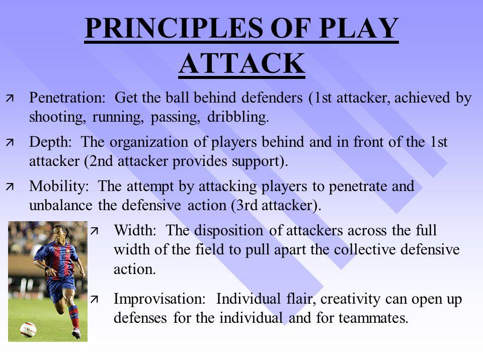 PRINCIPLES OF PLAY ATTACK