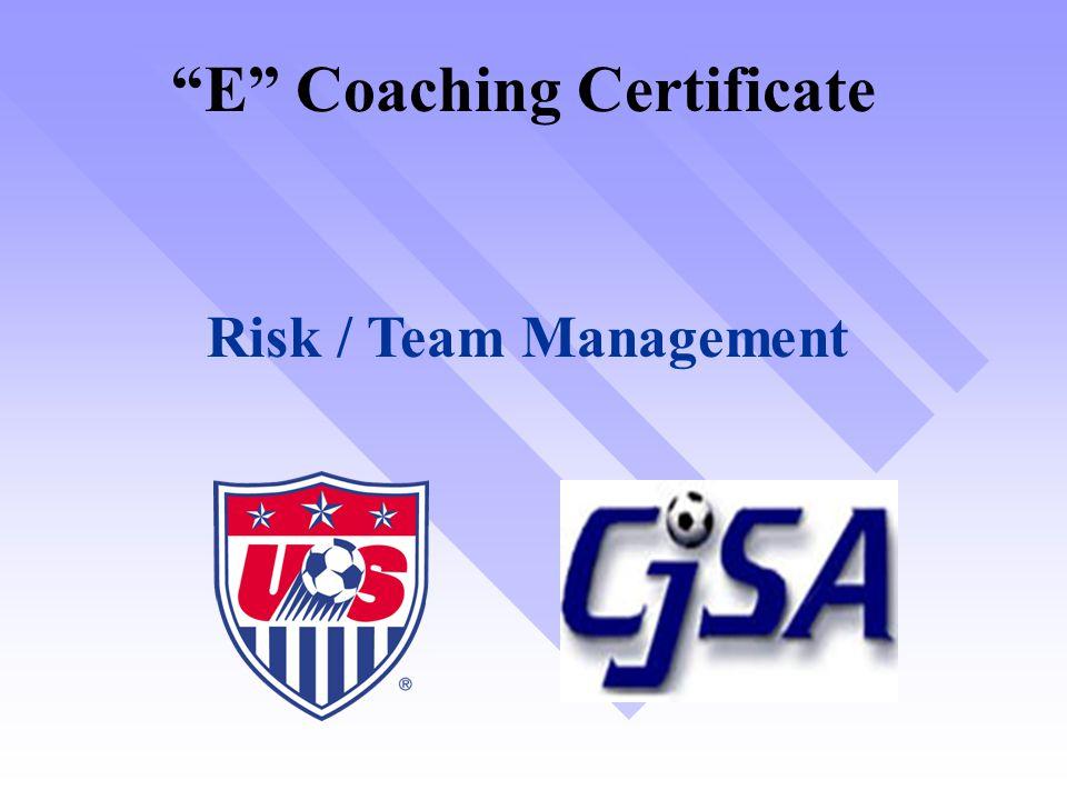 E Coaching Certificate
