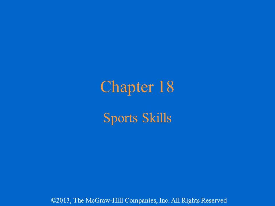 Chapter 18 Sports Skills