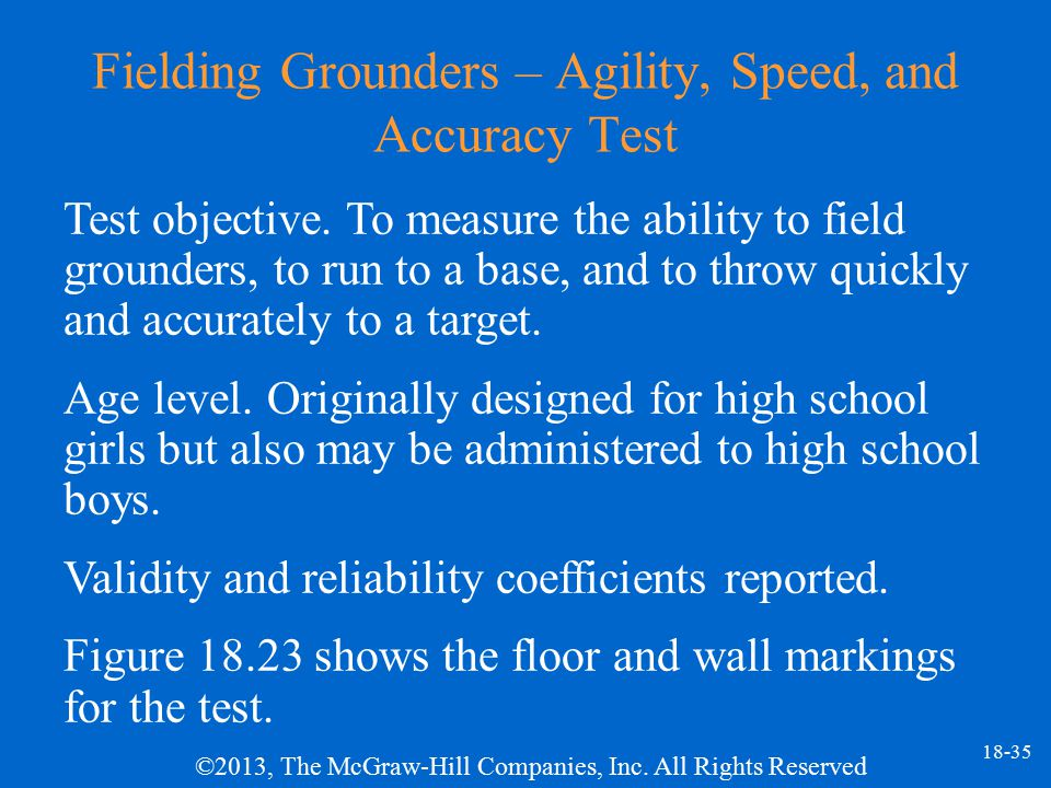 Fielding Grounders – Agility, Speed, and Accuracy Test