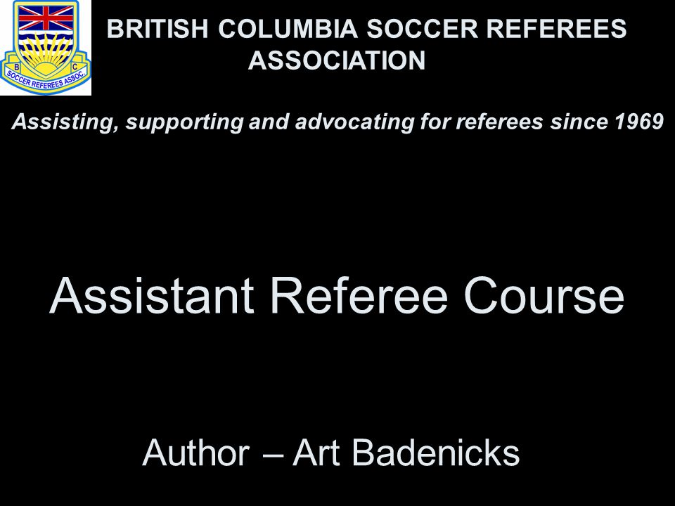 Assistant Referee Course