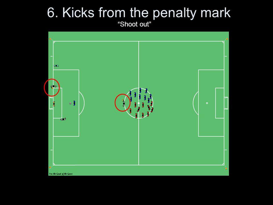6. Kicks from the penalty mark