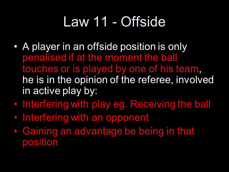 Law 11 - Offside