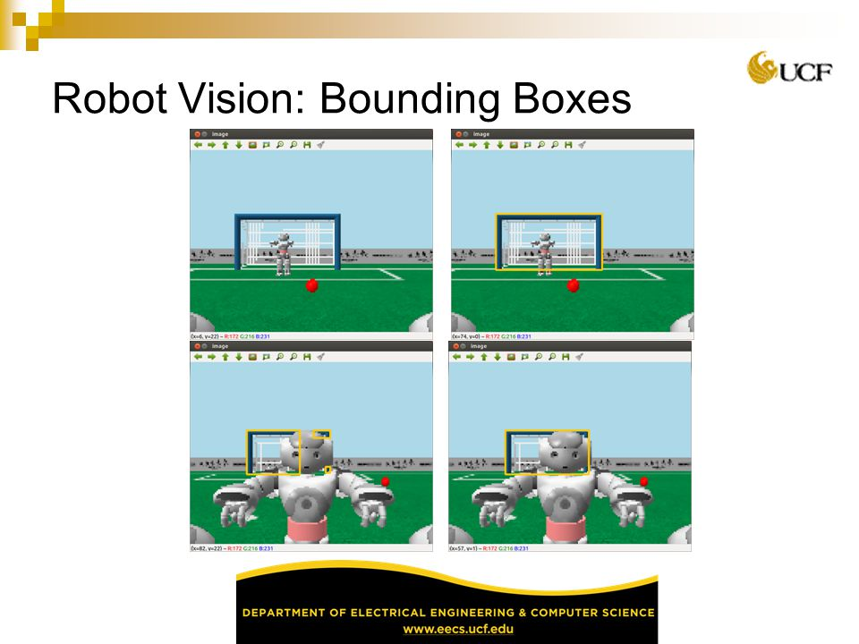 Robot Vision: Bounding Boxes